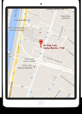Mapa de Localização - TPA Saúde
